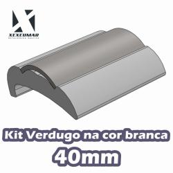 KIT VERDUGO PERFIL 40MM BRANCO - REF. 110124073