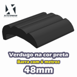 KIT VERDUGO PERFIL 48MM PRETO - REF. 110124074