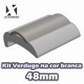 KIT VERDUGO PERFIL 48MM BRANCO - REF. 110124075