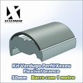 VERDUGO PERFIL XEXEU 50MM FLEXIVEL BRANCO - REF. 110124079
